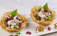 Salad đậu thanh mát, ngon từ nội dung tới hình thức