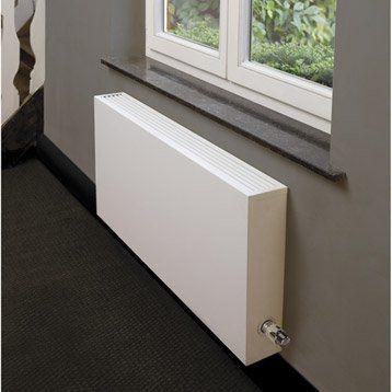 Radiateur chauffage central basse température Type 15 blanc, l.80 cm, 1505 W