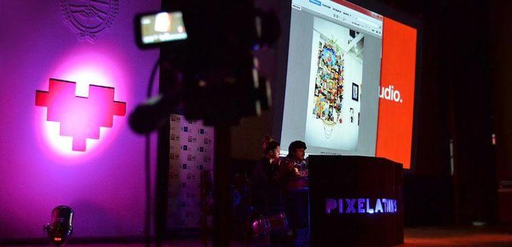 Excelente momento conLenimback en Pixelations 2012 !