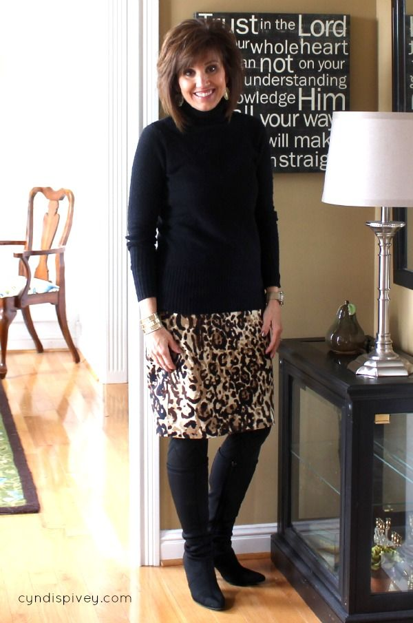Winter Work Outfits For Women Over 40