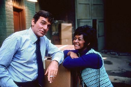 Mannix tv show (1967-1975), starring Mike Connors & Gail Fisher