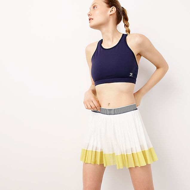 Women S New Balance For J Crew Tennis Skirt In Colorblock Women S Knits Tennis Skirt Clothes Tennis Skirts