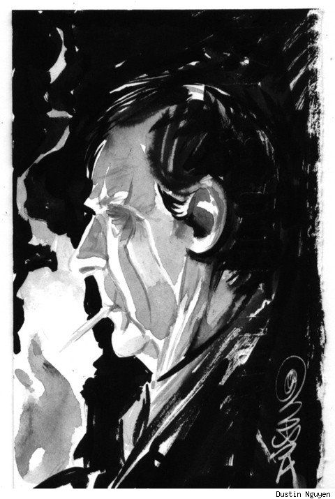 """The X-Files 'The Smoking Man"""" by Dustin Nguyen"""