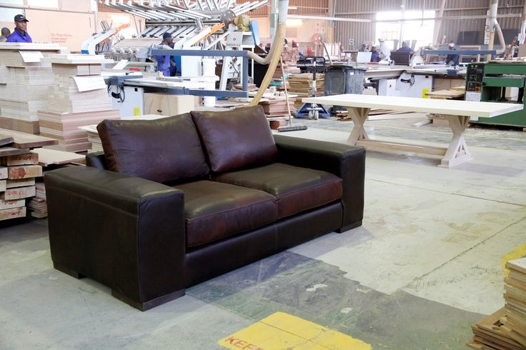 #Woodenways own #factory produce #sofas and #couches from the finest real #leather available in South Africa