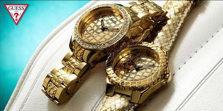 Εντυπωσιάστε σε κάθε εμφάνιση με ρολόγια GUESS! http://www.oroloi.gr/index.php?cPath=387
