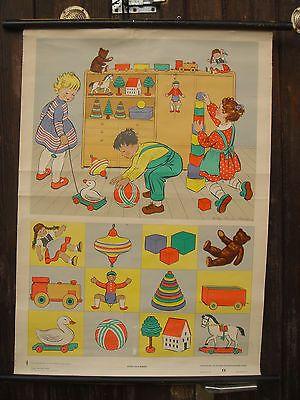 DDR Rollkarte für den Kindergarten