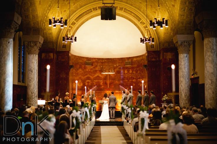 Nazareth Chapel Northwestern College - Minneapolis Wedding Photographer   DnK Photography