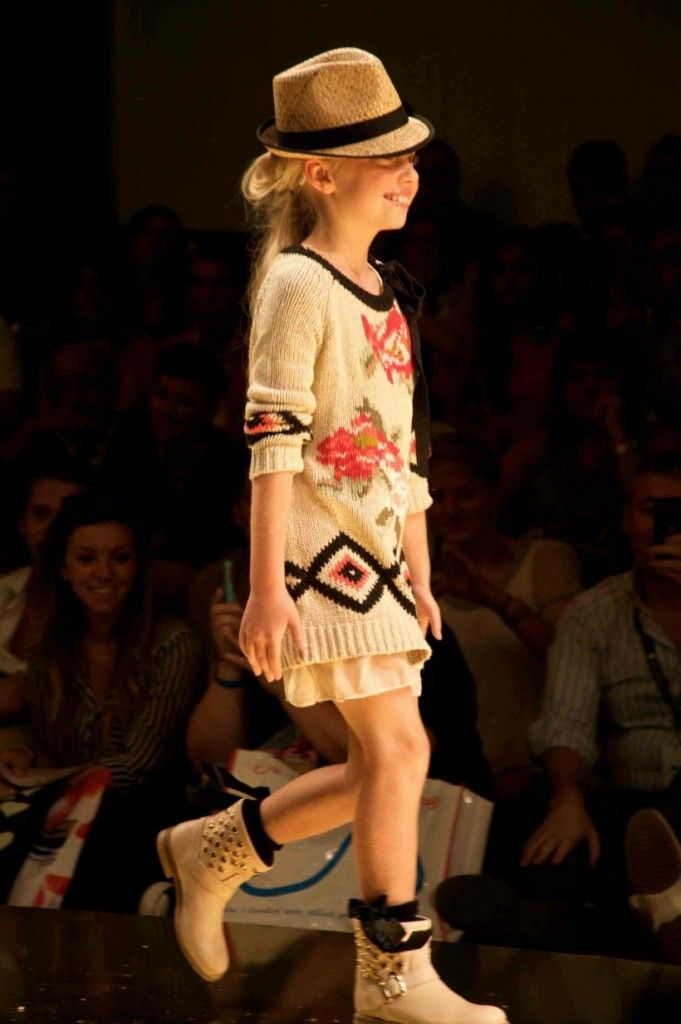 Twin-Set Girl patterned knitwear, this is a signature style for this Italian kids fashion label.