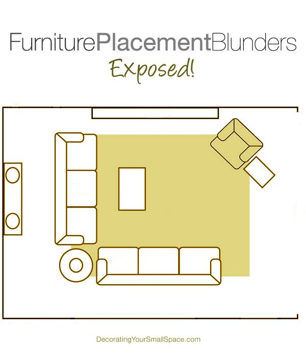 Top 3 Furniture Placement Blunders Exposed!