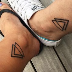 brother+n+sister+matching+tattoos                                                                                                                                                      More  Sibling tattoo (two triangles) with my brother.