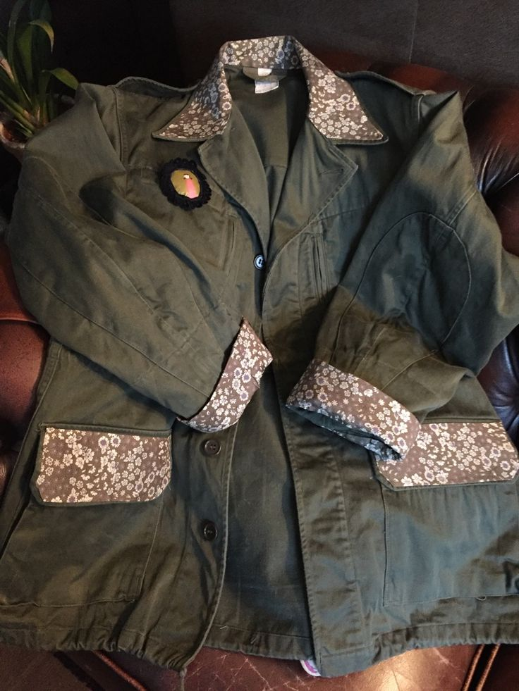 Ma veste militaire customisée