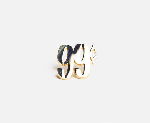 Prize Pins - 99c Gold front
