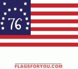 Bennington 76 Flag