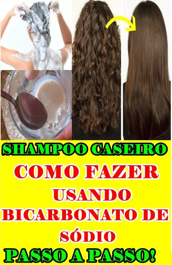 Como Fazer Shampoo Caseiro Com Bicarbonato De Sodio Guia Completo