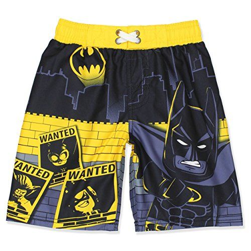 25e192f950 LEGO Batman Boys Swim Trunks Swimwear (4