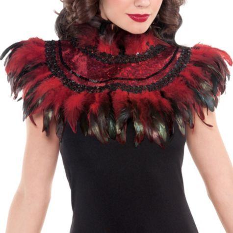 Fire Bird Feather Collar - Party City