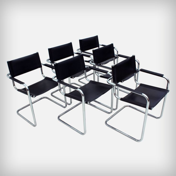 Attractive Set Of 6 Dining Or Office Chairs U2022 MG5 AR By Centra Studi Matteo Grassi |
