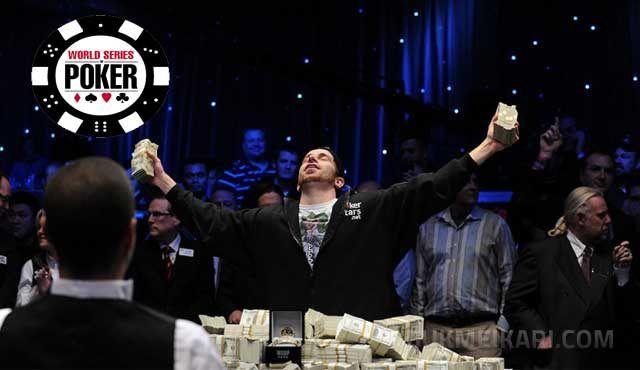 шампион с гривна от WSOP