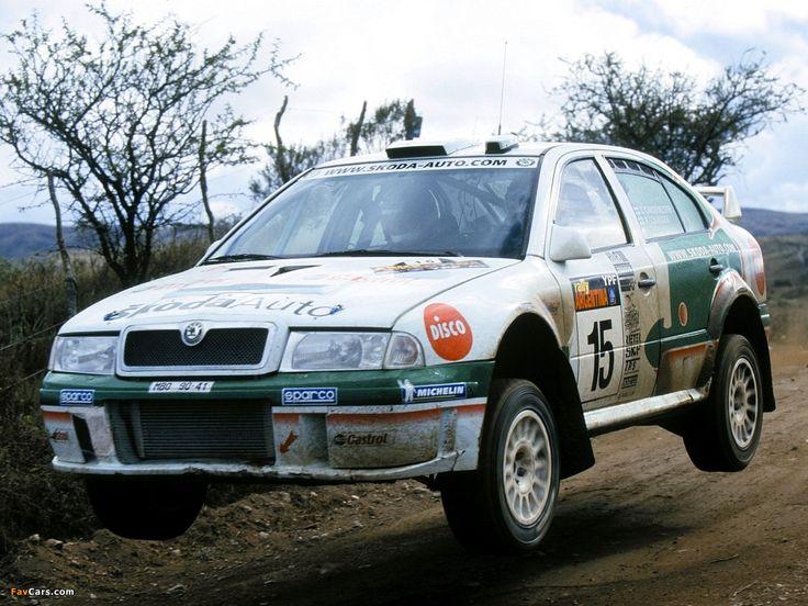 Wallpapers of Škoda Octavia WRC (1U) 1999–2003