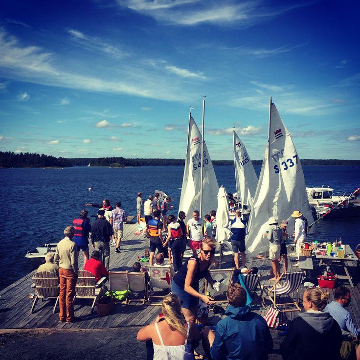 Seglingstävling sailing