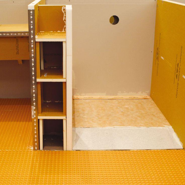 32 best Schluter images on Pinterest | Bathroom ideas, Bathroom ...
