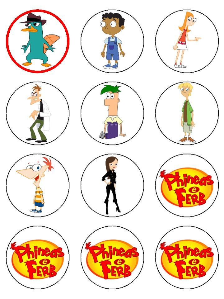 227 best phineas ferb printables images on pinterest. Black Bedroom Furniture Sets. Home Design Ideas