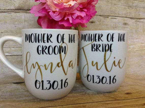Mother of the Bride Coffee Mug Mother of the by BrinnyKDesign