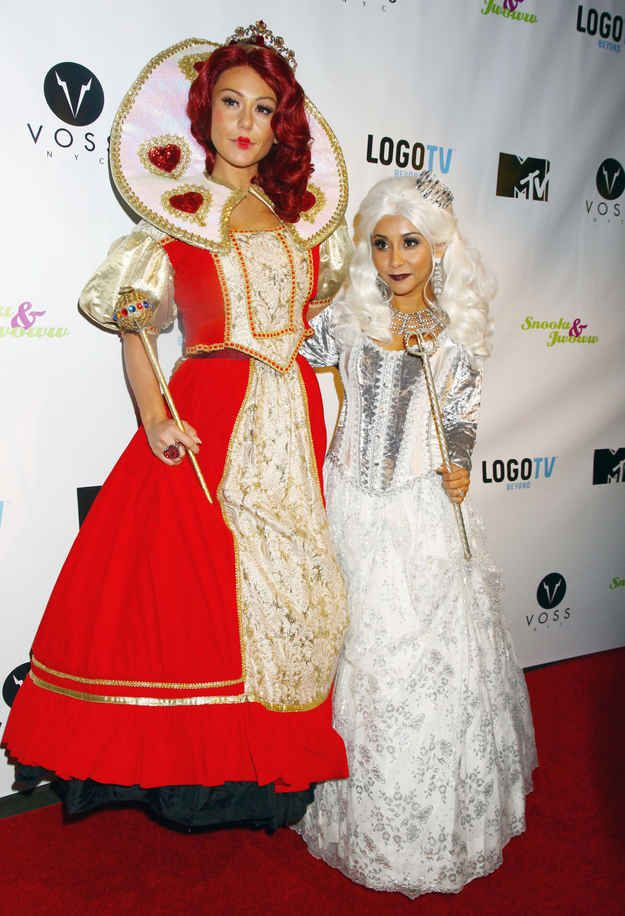 Snooki and JWoww   48 Halloween Costumes Celebrities Wore This Weekend