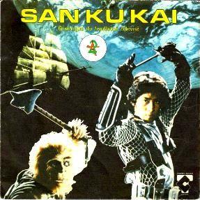 San ku kai. Dans l'espace il y a des machines dans l'espace ...