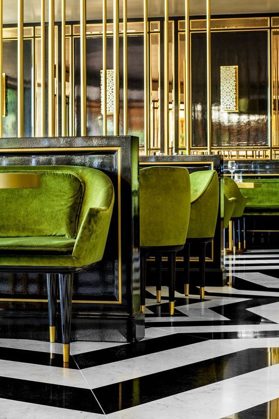 Striking In Its Elegance And Art Deco Drama, The Restaurant Everyoneu0027s.