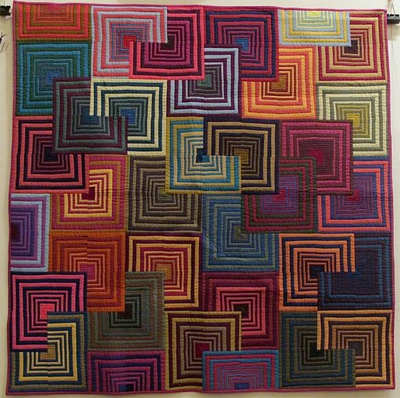 1000+ images about Art - Quilts - Striped Fabric Ideas on Pinterest Block of the month, Cotton ...