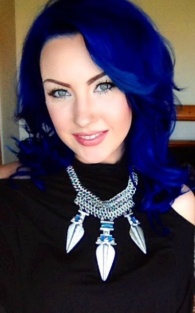 43 best me images on pinterest coloured hair colourful hair and custom pravana blue vivids and pastel mix on myself solutioingenieria Images