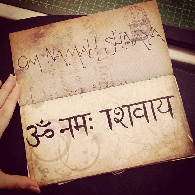 Om namah shivaya #typography #handlettering #calligraphy