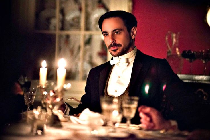 "Emun Elliott ""The Paradise""  (It is the rare modern man that can make this height of formal wear work.)"