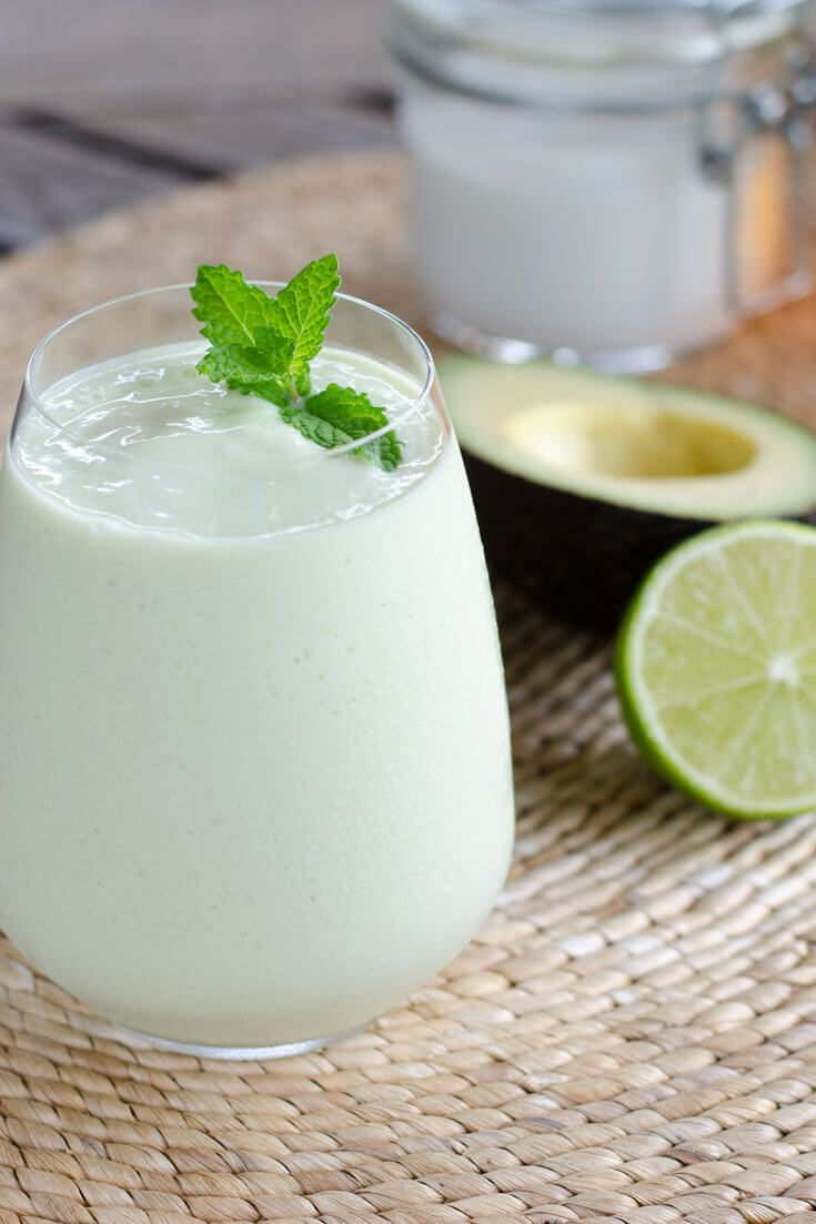 (Use the beverage-type coconut milk in the carton, and sweeten with stevia) 4-ingredient Key Lime Pie Smoothie -- gluten-free, dairy-free and egg-free.