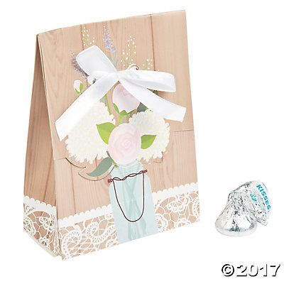 Rustic Wedding Goody Bags
