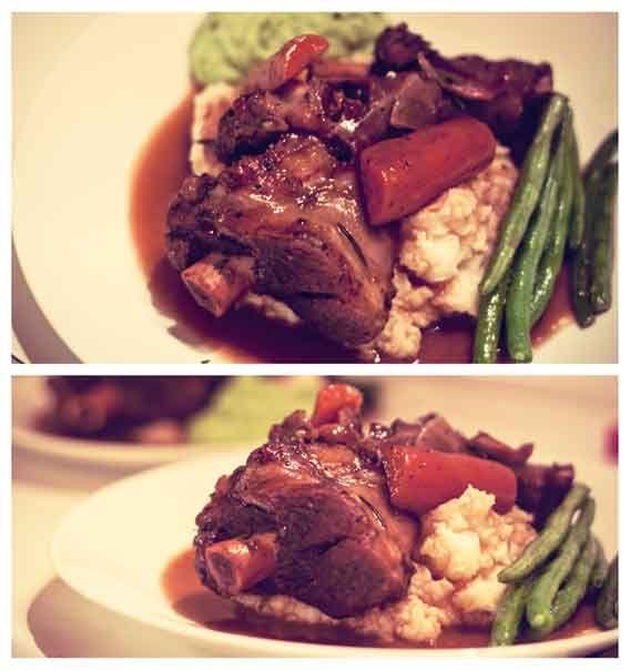 ... mint beer braised pork shanks recipes dishmaps lamb shanks braised