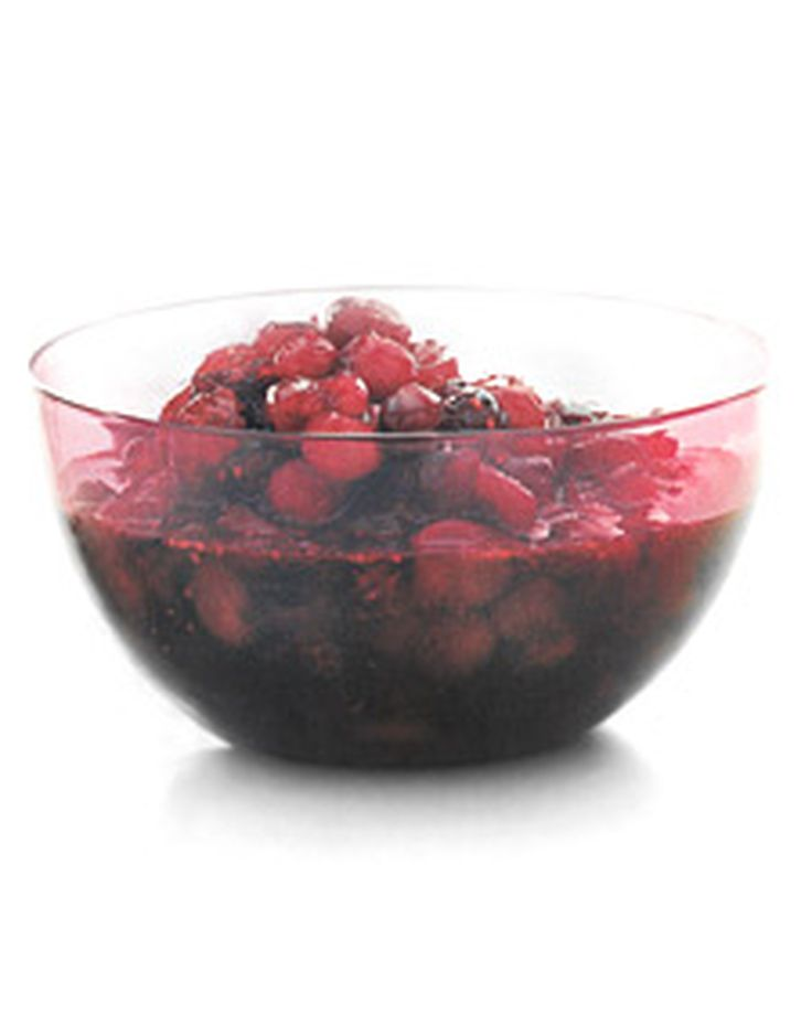 Cranberry Sauce with Cognac   Martha Stewart Living - This is a spicy variation on traditional cranberry sauce.