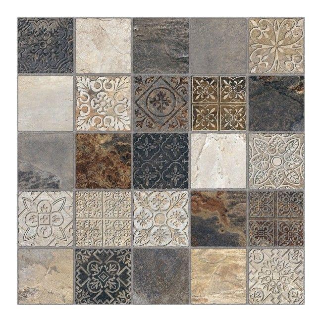 Gres Ardesia Calzada 45 X 45 Cm 1 M2 Gres Feature Tiles Tiles Flooring