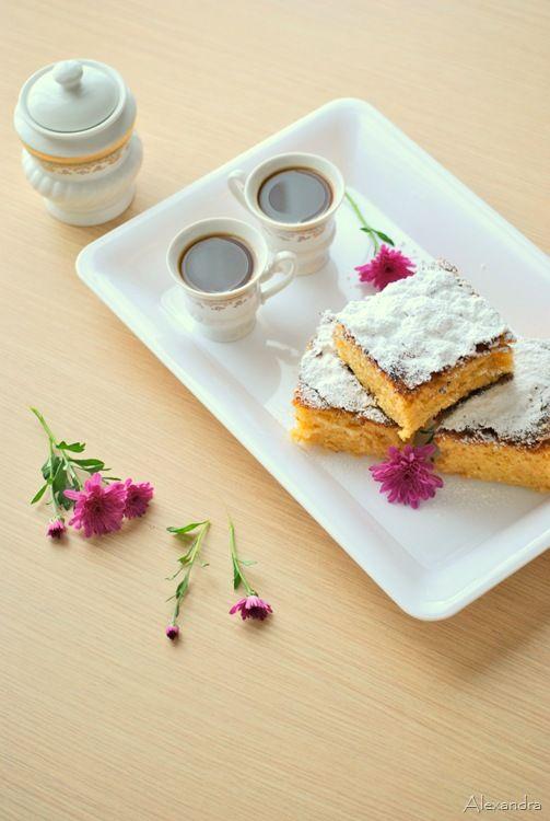 Μα...γυρεύοντας με την Αλεξάνδρα: Κέικ αφρός με χυμό πορτοκάλι και τρούφα