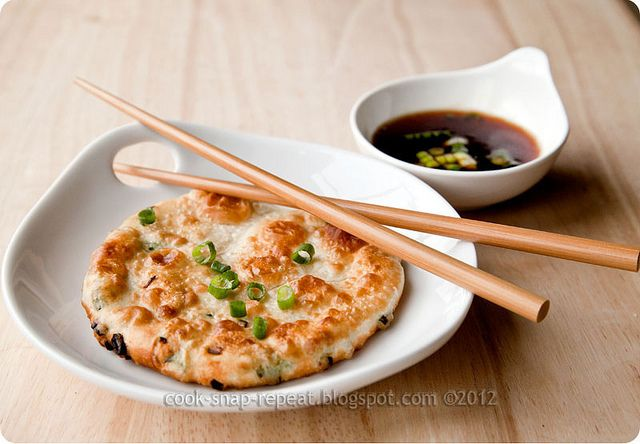 scallion pancakes by Cook, Snap, Repeat!, via Flickr