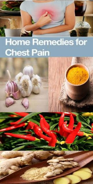 HOME REMEDIES TO TREAT CHEST PAIN
