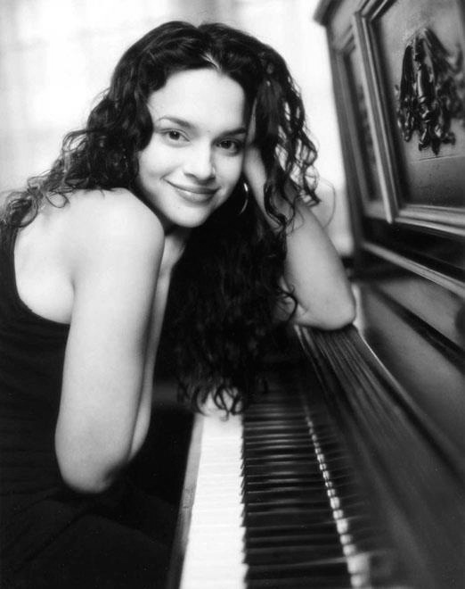Nora Jones - wish I could play piano and sing the way she does!