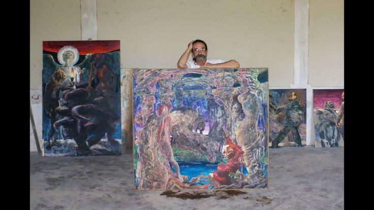 JAN ALBU   artist vizual  pictura scupltura fotografie,foto Corina Tudos...