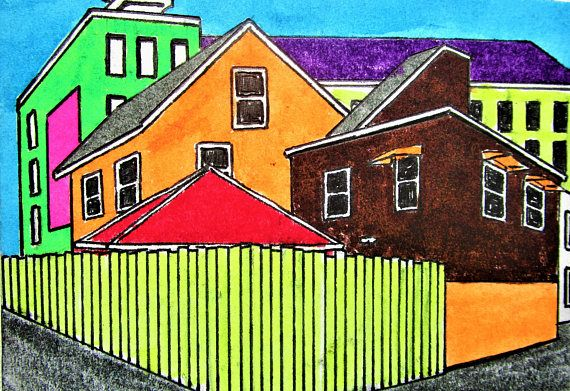 Brightscapes: The Way To Beauty  Chicago Alley #272 https://www.etsy.com/listing/210023423/chicago-alley-272-artist-trading-cards  My work on view at:  Loving Rochester Interview https://www.youtube.com/watch?v=HoKU60lBELc&feature=share  @Bausch Rochester Optics Center http://mikekraus.blogspot.com/2018/01/bausch-lomb-rotating-art-program.html   @Whitman Works Company https://www.facebook.com/LovingRochester/videos/163879897591357/  PENFIELD, NY Meet & Greet at Jeremiah's with my friend…