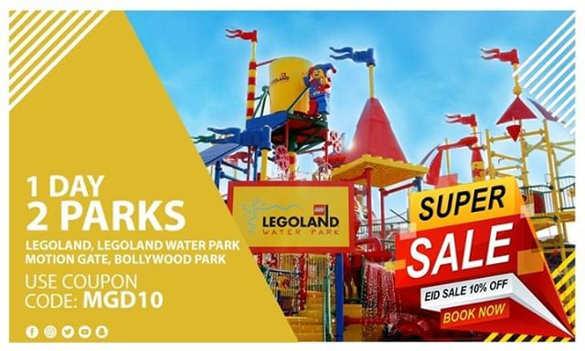 Book Your Tickets Now 1 Day 2 Parks Legoland Legoland Water