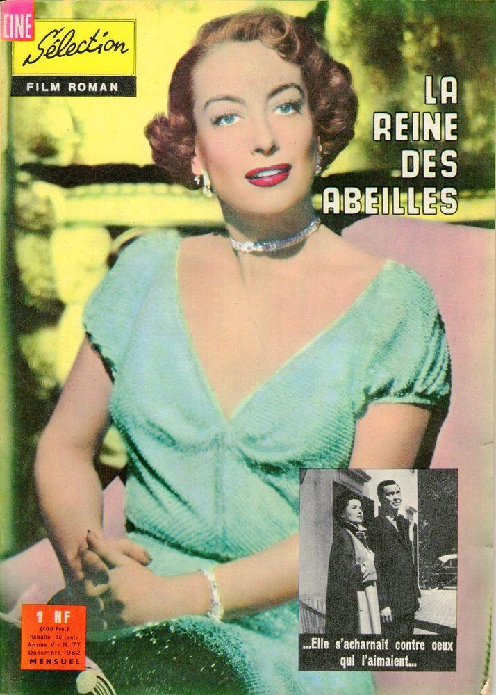 Joan Crawford La reine des abeilles Cine Selection film roman 1962