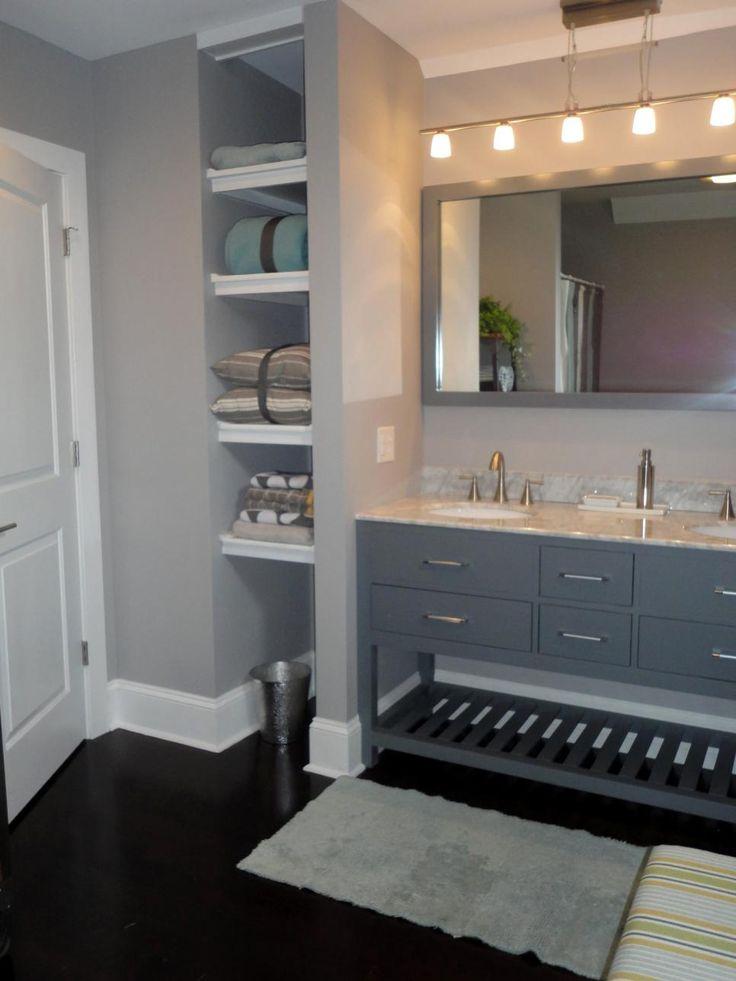 7 best powder room images on pinterest bathroom for Small room karen zoid