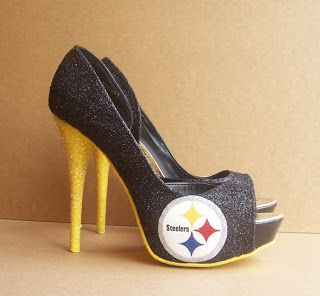 heels | Pittsburgh Steelers High Heels. Going out to the steelers game gonna wear these babies! Love.<3