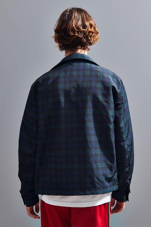 68598434e486b Slide View  4  Lacoste Checkered Nylon Windbreaker Jacket